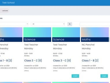 School Management with PHP Laravel