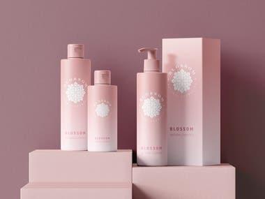 Cosmetics Label Design