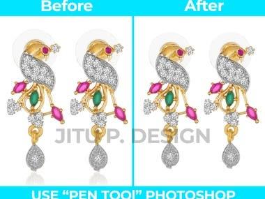 Jewelry Image Background remove / Editing