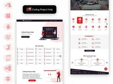 Coding Project Help Web UI