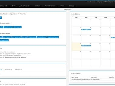 Developed a business process management software