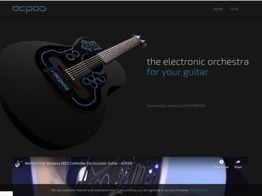 Developed acpad.com