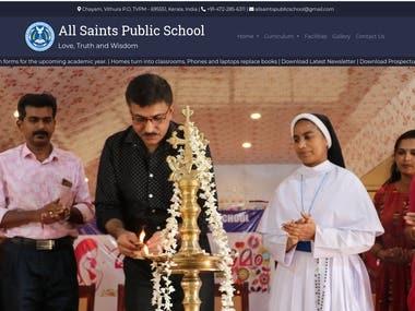 Designed and Developed allsaintspublicschool.in