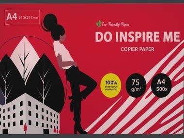 A4 Sheets Bundle Packaging Design