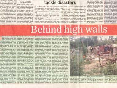 Behind High Walls
