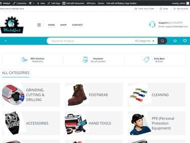 Weldjet - Amazon Affiliate Store