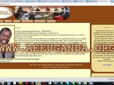 African Evangelistic Enterprise Website
