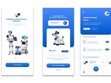 AI Mobile Application.