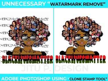 Watermark Remove Picture / EDIT