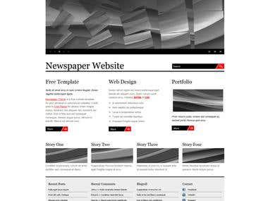 News updating blog