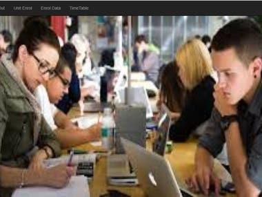 Student Management Website