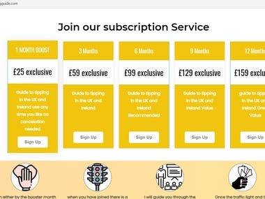 Membership Site - thetippingguide.com