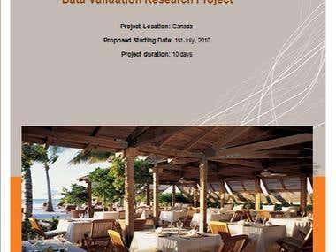 Proposal Designs