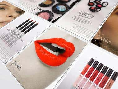 The Jana Collection Launch Print Collateral