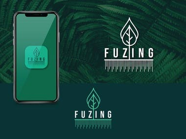 Fuzing Logo Design