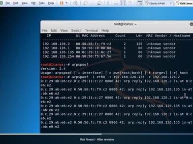 Kali Linux.
