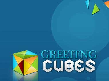 Greeting Cubes