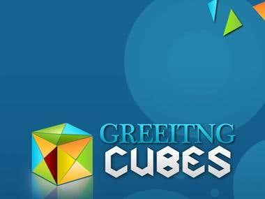 Greeting Cubes