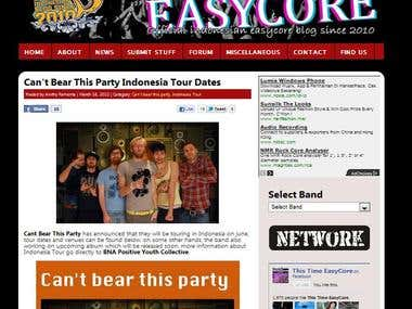 This Time Easycore Blog