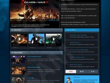 a gaming site
