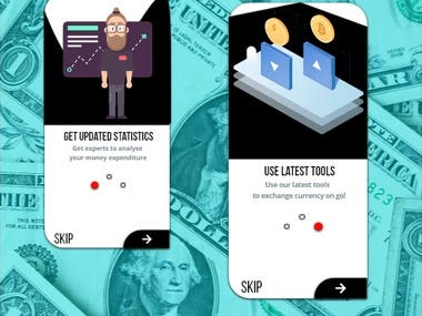 Investment Mobile App Onboarding UI/UX Design