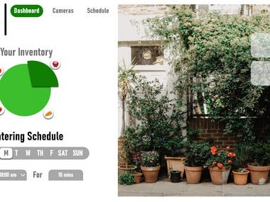 Garden Inventory Management Dashboard UI/UX Design