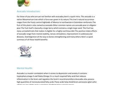 Nutritional Benefits of Ingesting Avocados