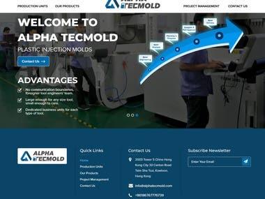 https://www.alphatecmold.com - Wordpress