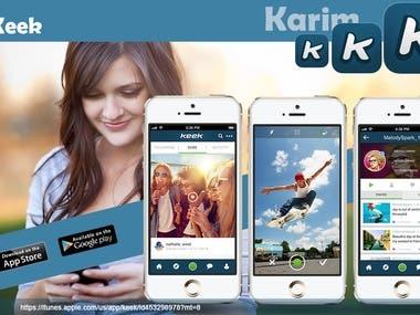 Keek Social Video Network App