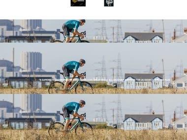 https://whyte.bike/ - Custom Shopify Website