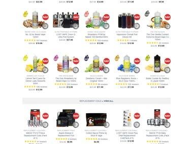 https://vapesocietysupplies.com/ - A Shopify Website