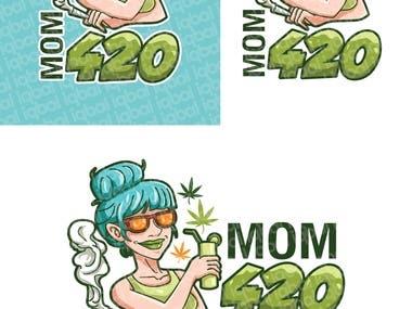 Logo cartoon design