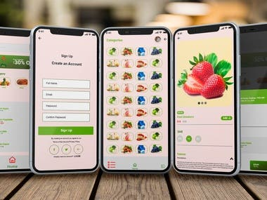 Grocery Apps Design