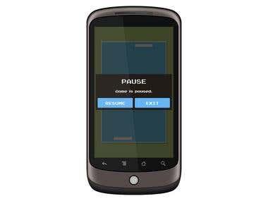 MiniPong Mobile Game