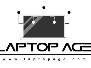 logo design for Laptop age website