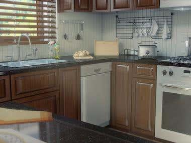 Kitchen (Wood)