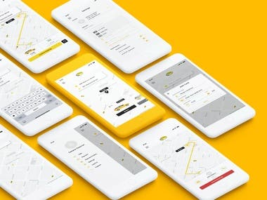 Taxi App ( Android & iOS )
