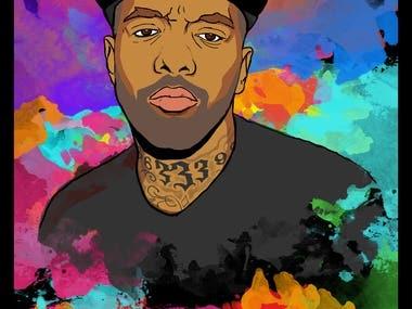 Rapper Prodigy Poster