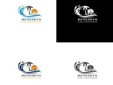 Resorts Amazing Logo Design