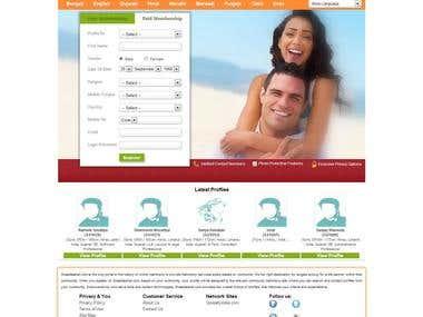 Relational Web site designing