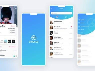 Real-time chat application