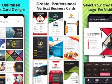 business card mobile app