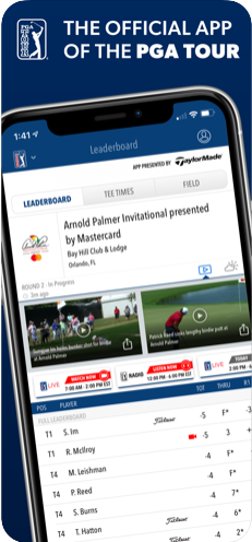 PGA TOUR Mobile app