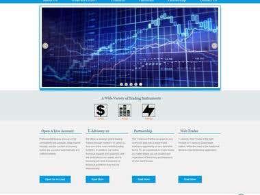 Commercial Web site desiging.