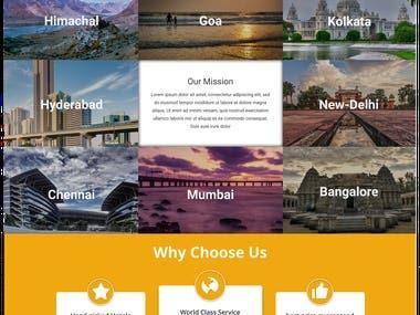 TripFur Website Design