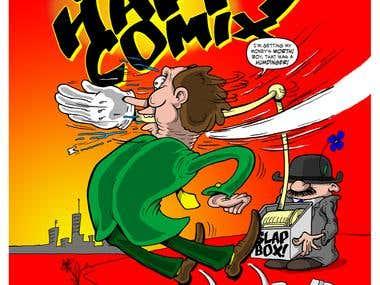 Slap Happy Comix Cover