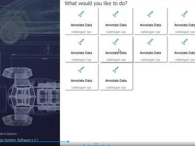 QML application