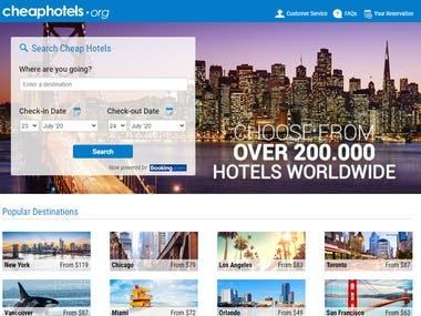 cheaphotel for webapp