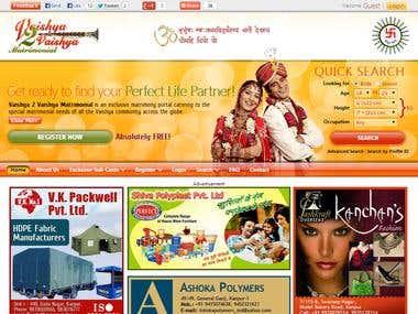 V2V - Matrimonial website