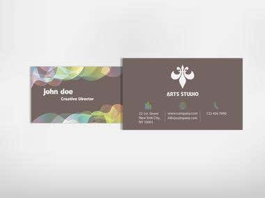Business Card for Creative Professionals